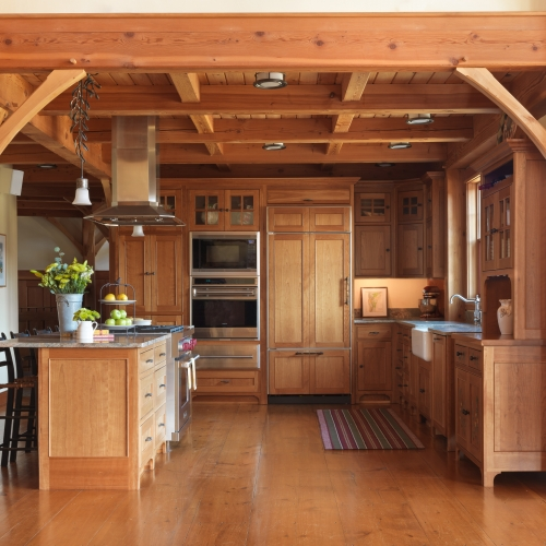 Timber Frame Ski Home